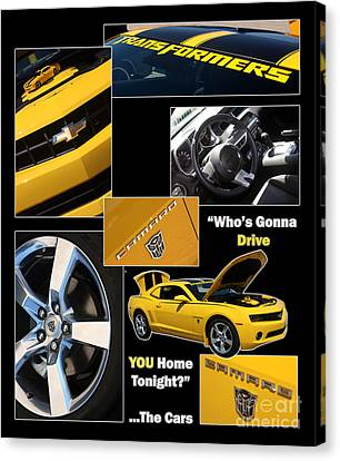 Bumble Bee-drive - Poster Canvas Print by Gary Gingrich Galleries