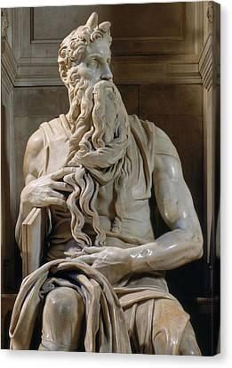 Buonarroti Michelangelo, Tomb Of Giulio Canvas Print by Everett