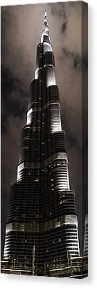Burj Khalifa Canvas Print by Corinne Rhode