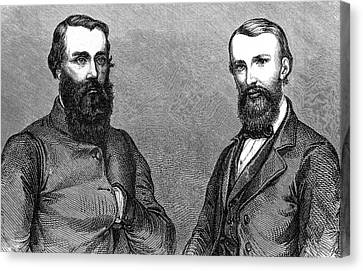 Burke And Wills Canvas Print by Collection Abecasis