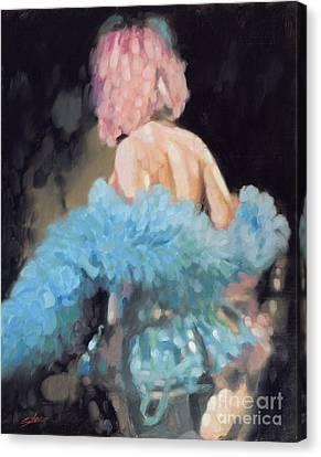 Burlesque I Canvas Print by John Silver