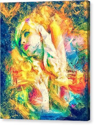 Burning Dream Canvas Print by Denis Galkin