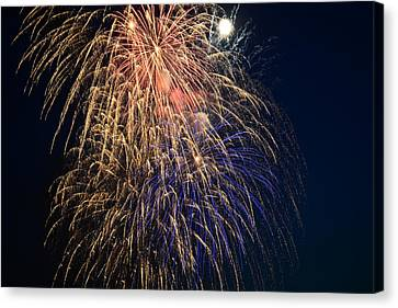 Bursting In Air Canvas Print by Ronda Broatch