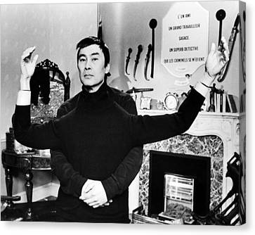 Burt Kwouk In Revenge Of The Pink Panther  Canvas Print by Silver Screen