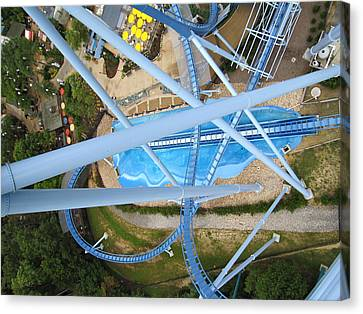 Busch Gardens - 121215 Canvas Print by DC Photographer