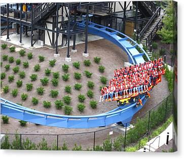 Busch Gardens - 121219 Canvas Print by DC Photographer