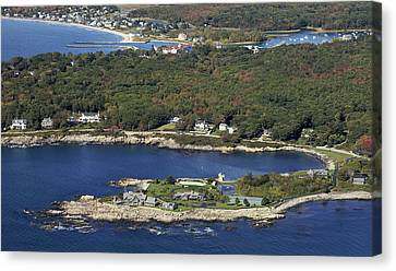 Bush Compound, Kennebunkport Canvas Print by Dave Cleaveland