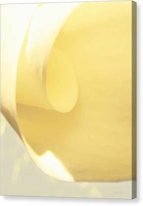 Butter Curl Canvas Print by Julie Magers Soulen