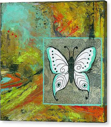 Butterflies Are Free Canvas Print by Blenda Studio
