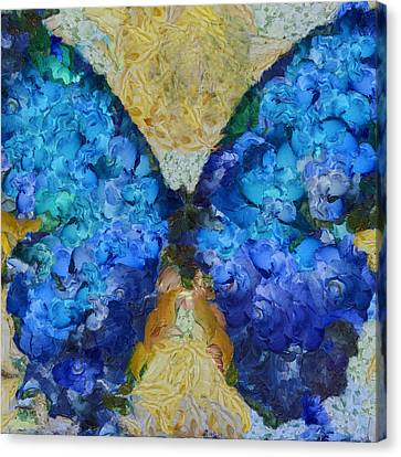 Butterfly Art - D11bb Canvas Print by Variance Collections