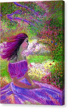 Butterfly Breezes Canvas Print by Jane Small