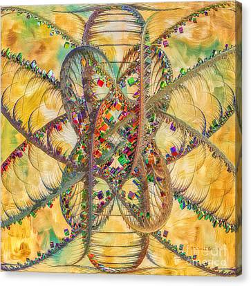 Butterfly Concept Canvas Print by Deborah Benoit