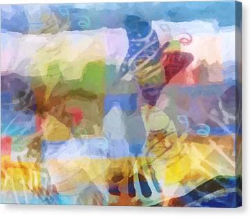 Butterfly Imagination Canvas Print by Lutz Baar
