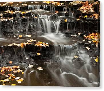 Buttermilk Falls Canvas Print by Shannon Workman