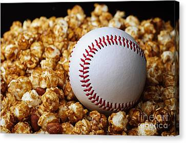 Buy Me Some Cracker Jack 2 Canvas Print by Andee Design