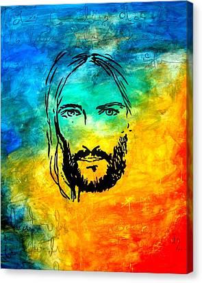 By Faith Canvas Print by Ivan Guaderrama