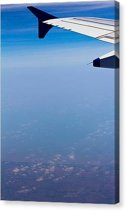 by Land Sea or Air Canvas Print by Saurav Pandey