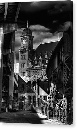 By The Station Canvas Print by Tim Wilson