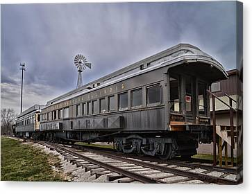 C E Il Rr Car Side And Front Views Canvas Print by Thomas Woolworth