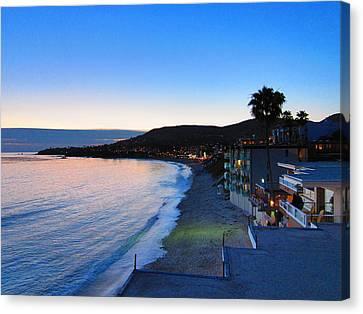 Ca Beach - 121238 Canvas Print by DC Photographer