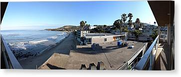 Ca Beach - 121263 Canvas Print by DC Photographer