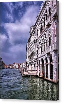 Ca' D'oro Venice Canvas Print by Carol Japp