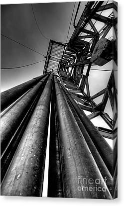 Cac001bw-14 Canvas Print by Cooper Ross