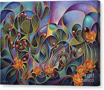 Cactus Dinamicus Canvas Print by Ricardo Chavez-Mendez