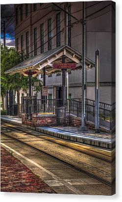 Cadrecha Plaza Station Canvas Print by Marvin Spates