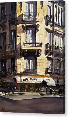 Cafe Panis Canvas Print by James Nyika