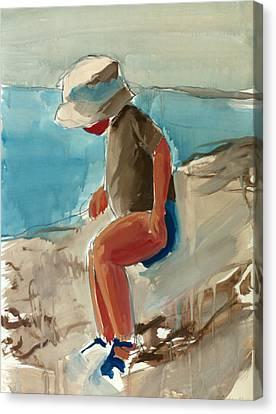 Cagnes Study Canvas Print by Daniel Clarke