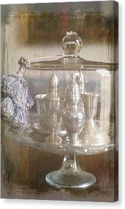 Cake Stand With Tassel Canvas Print by Suzanne Powers