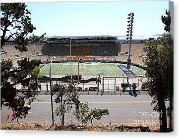 Cal Bears California Memorial Stadium Berkeley California 5d24656 Canvas Print by Wingsdomain Art and Photography