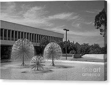 Cal State University Long Beach Student Union Canvas Print by University Icons
