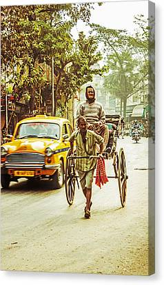 Calcutta Canvas Print by Vandana Dev