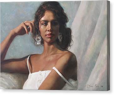 California Beauty Canvas Print by Anna Rose Bain