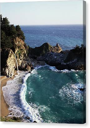 California, Big Sur Coast, Central Canvas Print by Christopher Talbot Frank
