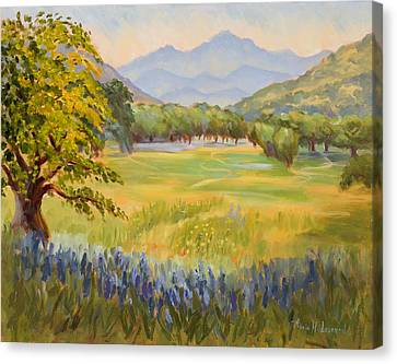 California Glow Canvas Print by Karin  Leonard