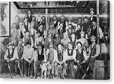 California Gun Club Canvas Print by Underwood Archives