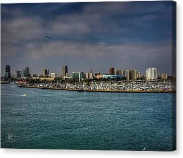 California - Long Beach 002 Canvas Print by Lance Vaughn