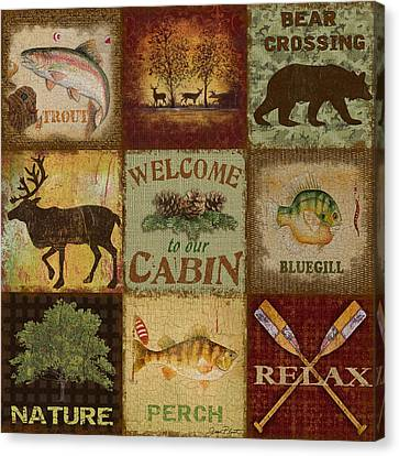 Call Of The Wilderness Canvas Print by Jean Plout