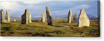 Callanish Stones, Isle Of Lewis, Outer Canvas Print by Panoramic Images