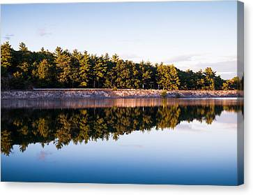 Calm Canvas Print by Lee Costa