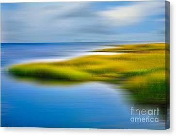 Calm Waters - A Tranquil Moments Landscape Canvas Print by Dan Carmichael