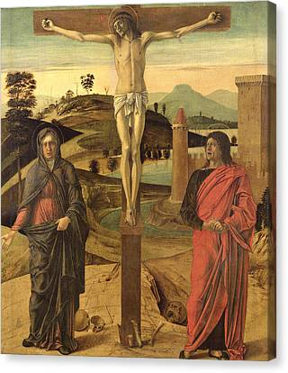 Calvary Canvas Print by Giovanni Bellini