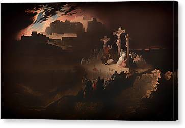 Calvary Canvas Print by Mountain Dreams