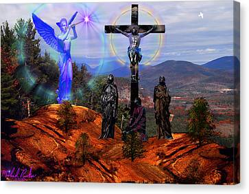 Calvary Canvas Print by Michael Rucker
