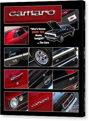 Camaro-drive - Poster Canvas Print by Gary Gingrich Galleries