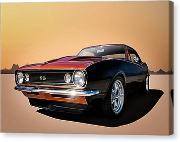 Camaro Ss Canvas Print by Douglas Pittman