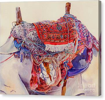 Camel Saddle Canvas Print by Dorothy Boyer